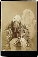 (SPIRITUALISM) Group of 5 British photographs depicting