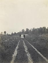(VERNACULAR SUMMER) Album containing 28 artful photographs, by an extremely talented American photographer who creatively recorded