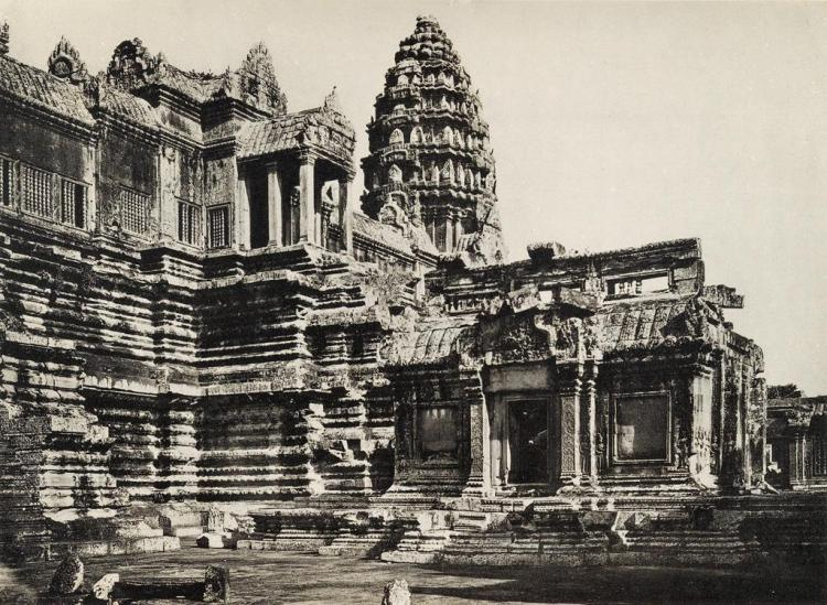 Architecture cambodia angkor wat le temple d 39 angkor v for Wat architecture