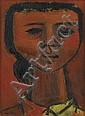 CHARLES ALSTON (1907 - 1977) Head of a Young Girl., Charles Henry Alston, Click for value