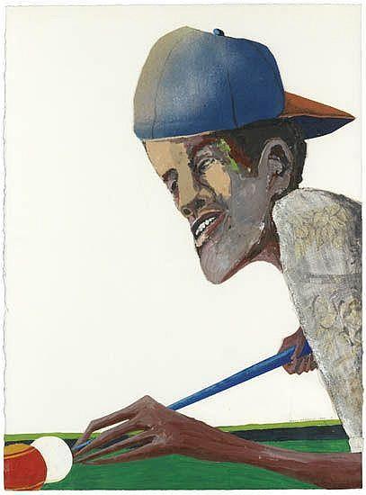 BENNY ANDREWS (1930 - 2006) Hustler.