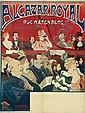 ADOLPHE CRESPIN (1859-1944) & EDOUARD DUYCK (1856-1897) ALCAZAR ROYAL. 1894., Adolphe Crespin, Click for value