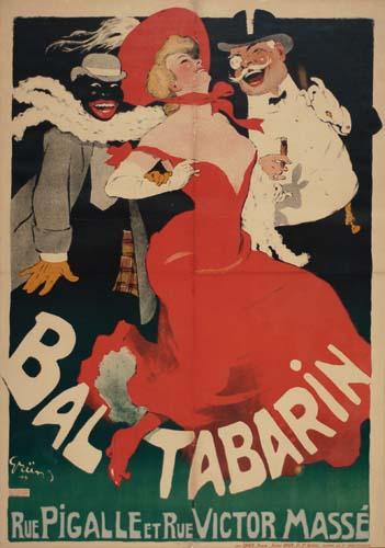 JULES ALEXANDRE GRUN (1868-1938) BAL TABARIN.