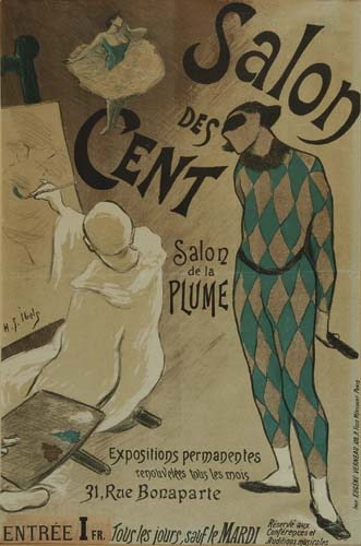 HENRI GABRIEL IBELS (1867-1936) SALON DES CENT. 1894.