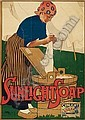 LEOPOLDO METLICOVITZ (1868-1944) SUNLIGHT SOAP. 1900., Leopoldo Metlikovitz, Click for value