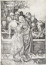 MARTIN SCHONGAUER The Entombment.