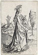 MASTER MZ (MATTHÄUS ZAISINGER ?) St. Ursula.