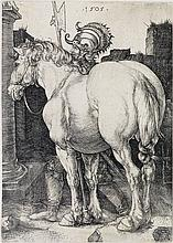 ALBRECHT DÜRER The Large Horse.