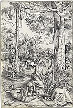 LUCAS CRANACH The Penitence of St. Jerome.