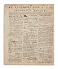 (SLAVERY AND ABOLITION.) Hall, Prince. Petition against the kidnapping of African-American seamen,