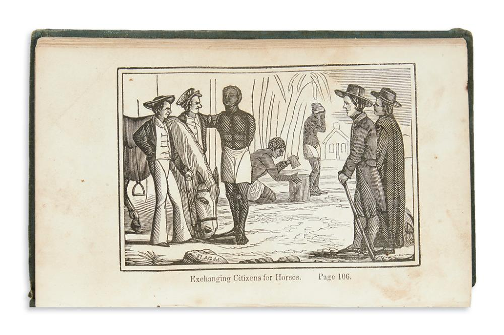 (SLAVERY AND ABOLITION.) [Bourne, George.] Picture of Slavery in the United States of America.