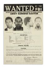(BLACK PANTHERS.) Wanted by the FBI: Interstate Flight, Assault with Intent to Commit Murder--Leroy Eldridge Cleaver.