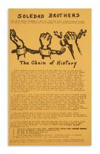 (BLACK PANTHERS.) Soledad Brothers . . . The Chain of History.
