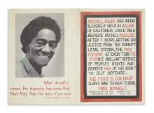 (BLACK PANTHERS.) Ruchell Magee Has Been Illegally Held as a Slave in California Since 1963.