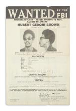 (BLACK PANTHERS.) Group of 13 FBI wanted posters of Black Panthers and other radical activists.