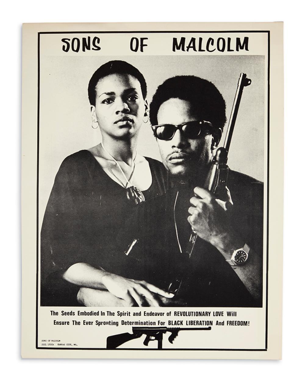 (BLACK PANTHERS.) Sons of Malcolm.