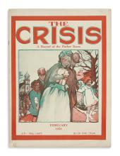 (CIVIL RIGHTS.) Du Bois, W.E.B; editor. 14 issues of The Crisis: A Record of the Darker Races.