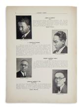 (EDUCATION.) Commencement issue of the Lincoln News, the Lincoln University magazine, featuring Langston Hughes.