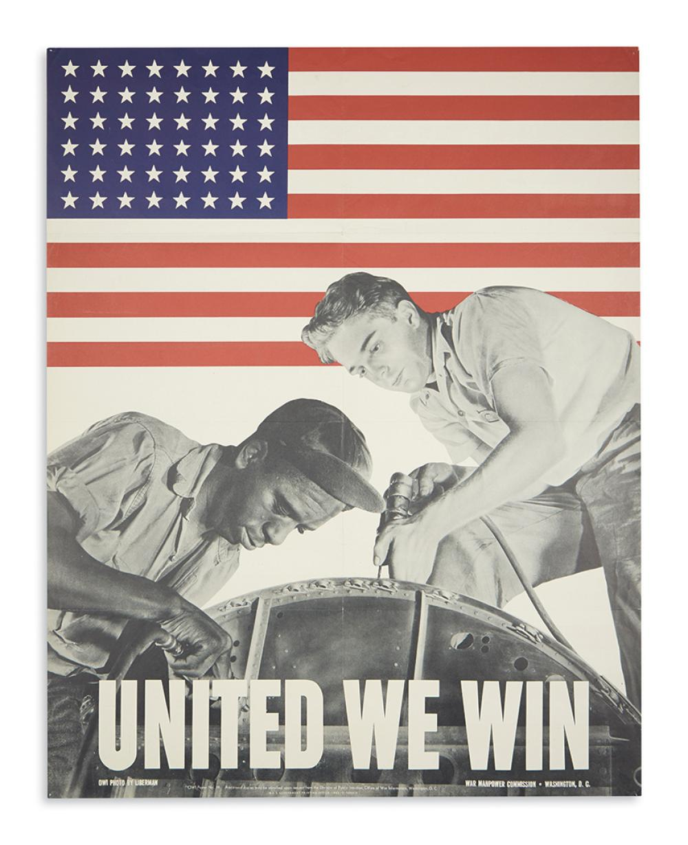 (MILITARY--WORLD WAR TWO.) United We Win.
