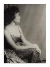 (MUSIC.) Van Vechten, Carl; photographer. Portrait of opera star Reri Crist.