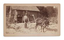 (PHOTOGRAPHY.) Moller, A.W.; photographer. Group of 3 African-American scenes in Georgia.