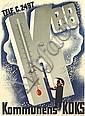 HELGE REFN (1908-1985). KOMMUNENS KOKS. 1941. 33x21 inches, 84x53 cm., Helge Refn, Click for value