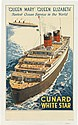 WALTER THOMAS (1894-1971). CUNARD WHITE STAR /