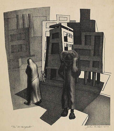 JOHN WILSON (1922 -   ) El Cargador.