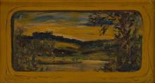 LOUIS EILSHEMIUS Golden Landscape.