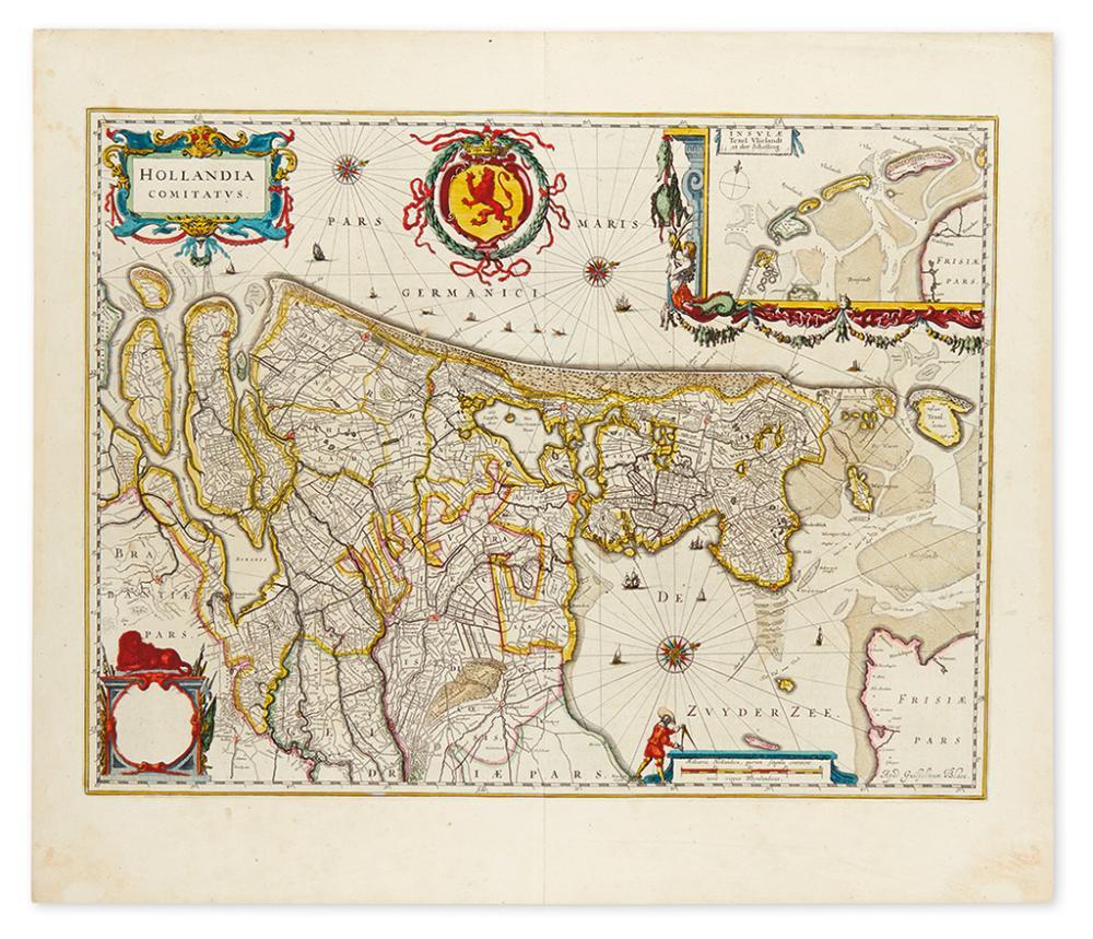 BLAEU, WILLEM. Hollandia Comitatus
