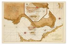 (COPENHAGEN.) Mortier, Pierre. Carte de Detroit du Sond Contenant les Costes de L''Isle de Zélande Comprises ente Nicopen