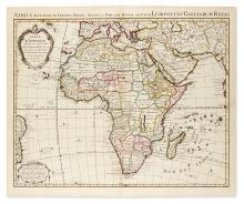 DE L''ISLE, GUILLAUME; and COVENS & MORTIER. Carte d''Afrique Dressée pour l''usage du Roy.