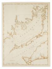 DES BARRES, JOSEPH FREDERICK WALLET. [Buzzards Bay and Vineyard Sound.]