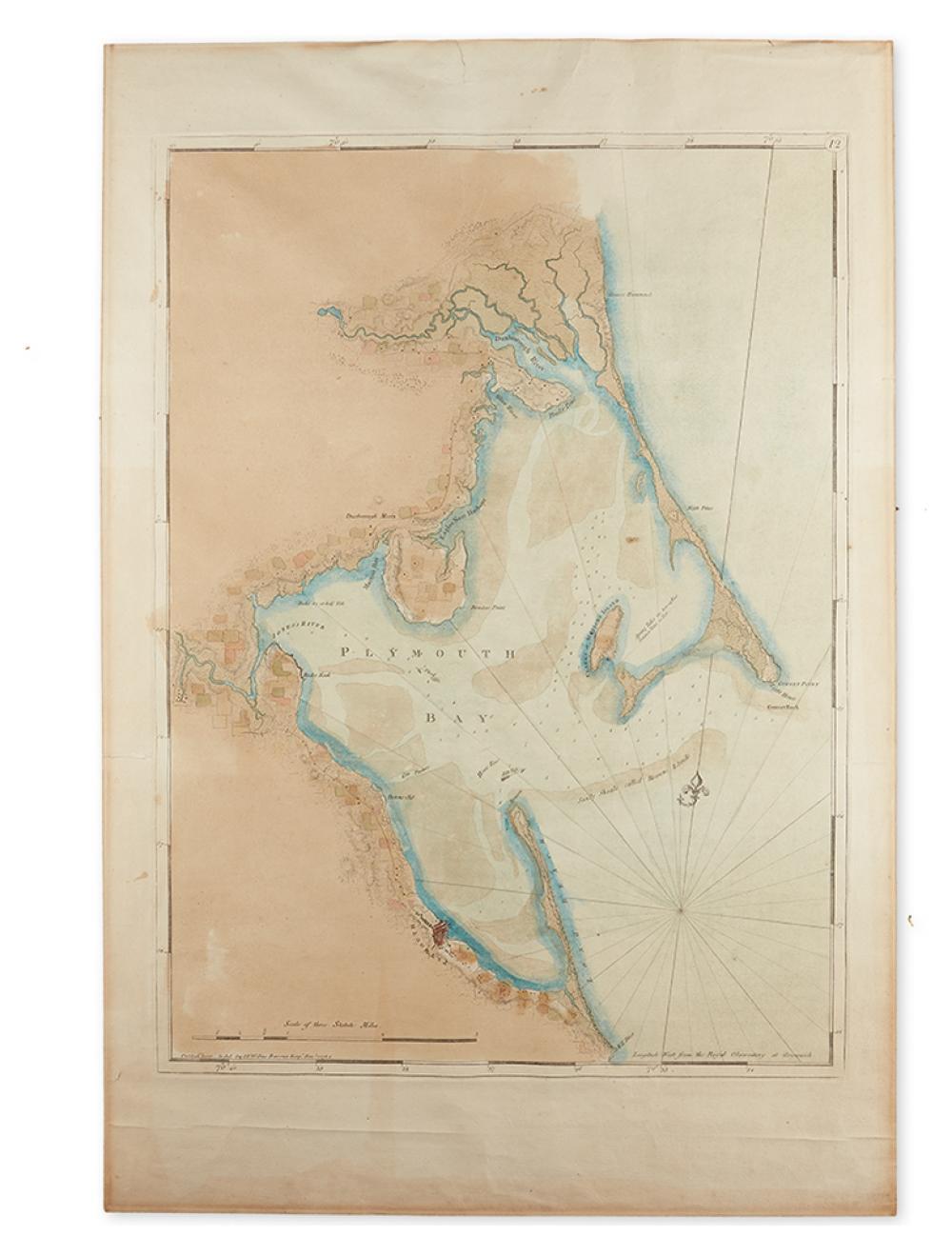 DES BARRES, JOSEPH FREDERICK WALLET. [Plymouth Bay.]
