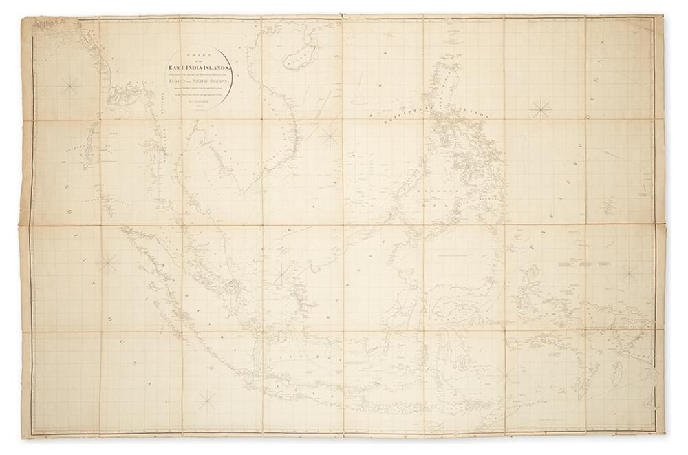 ARROWSMITH, AARON. Chart of the East India Islands