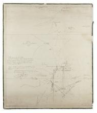 (BANGKA ISLAND.) [Ross, Daniel.] Chart of the passage to the East of Banka