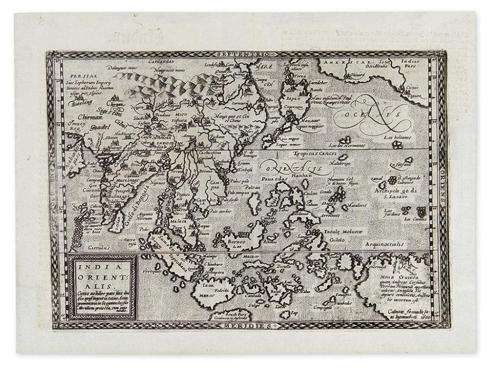 BUSSEMACHER, JOHANN. India Orientalis.