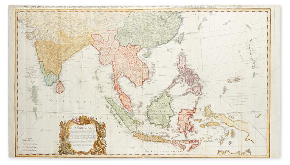 HOMANN HEIRS. Carte des Indes Orientales.