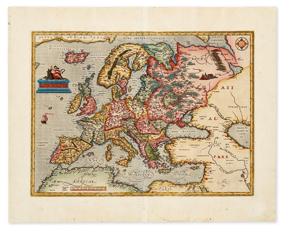 ORTELIUS, ABRAHAM. Europae.