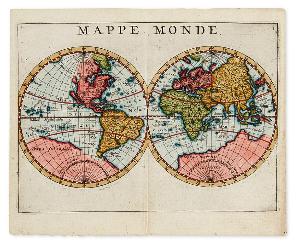 (WORLD.) Mappe Monde.
