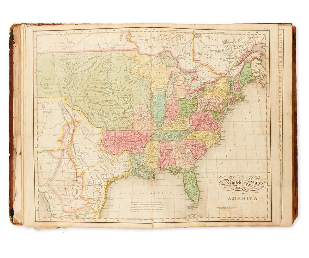 CAREY, HENRY CHARLES; and LEA, ISAAC. A Complete Historical, Chronological, and Geographical American Atlas.