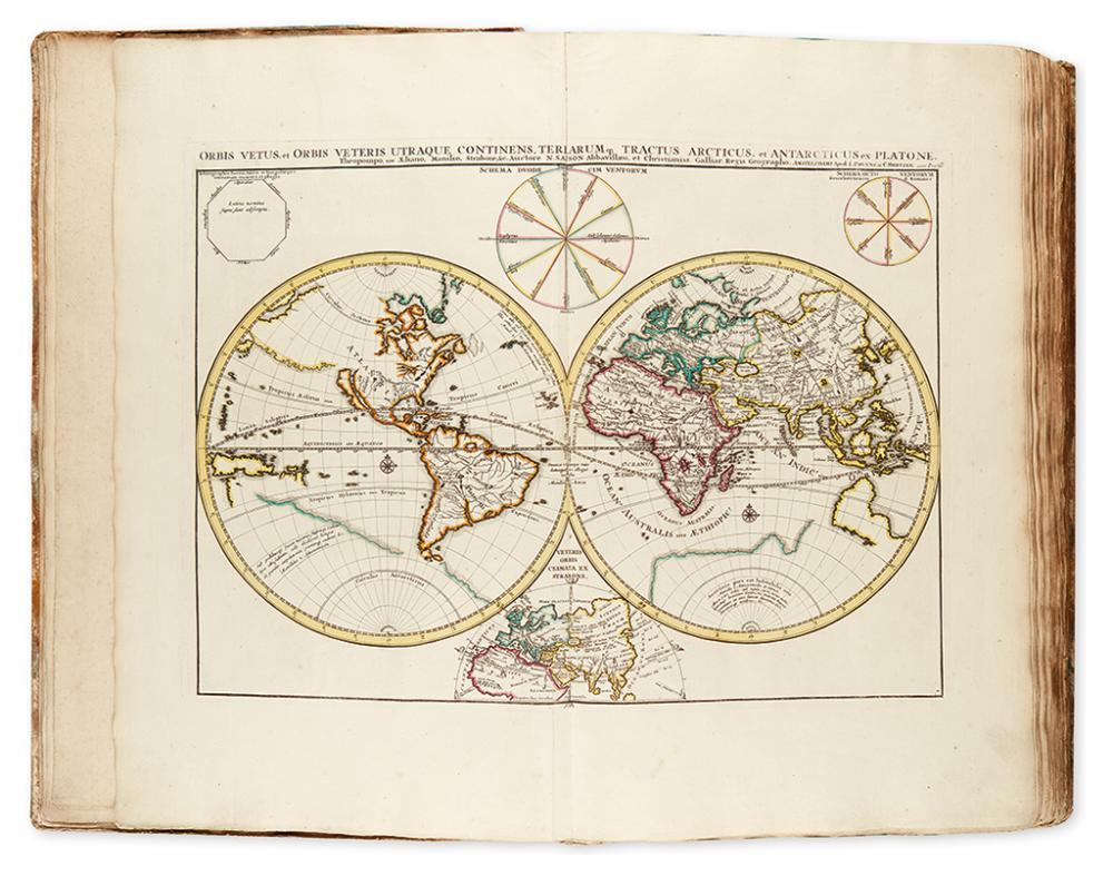 CLERICUS, JOANNES. Atlas Antiquus, Sacer, Ecclesiasticus et Profanus.