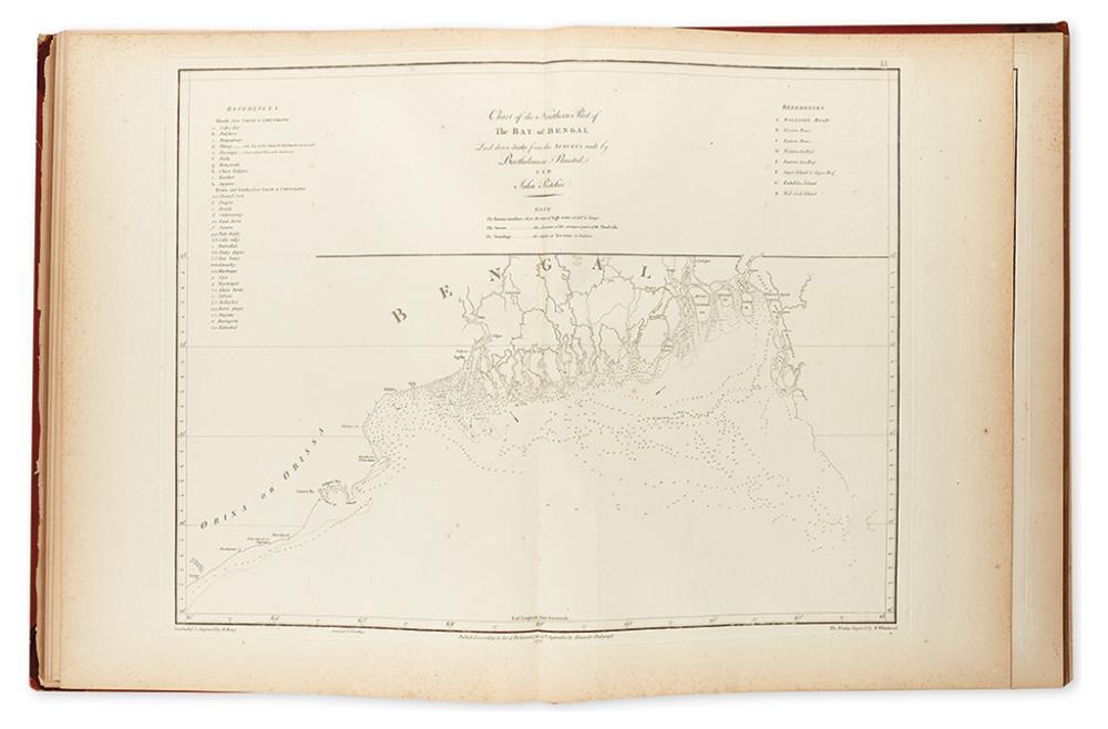 D''APRES DE MANNEVILLETTE, JEAN-BAPTISTE NICOLAS DENIS. Neptune Oriental.