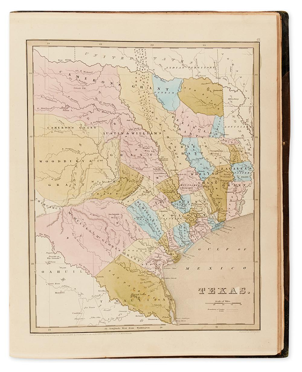 GOODRICH, SAMUEL GRISWOLD; [and BRADFORD, THOMAS GAMALIEL.] A General Atlas of the World,