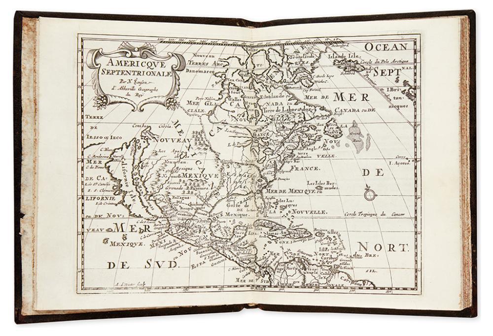 SANSON, NICOLAS. L''Amerique en Plusieurs Cartes Nouvelles et Exactes; et en Divers Traittez de Geographie & D''Histoire.