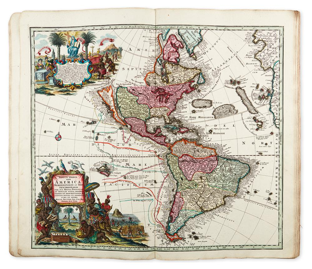 SEUTTER, MATTHAUS. Atlas Novus sive Tabulae Geographicae totius Orbis.