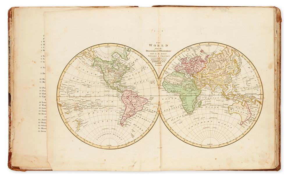 WILKINSON, ROBERT. Wilkinson''s General Atlas of the World.