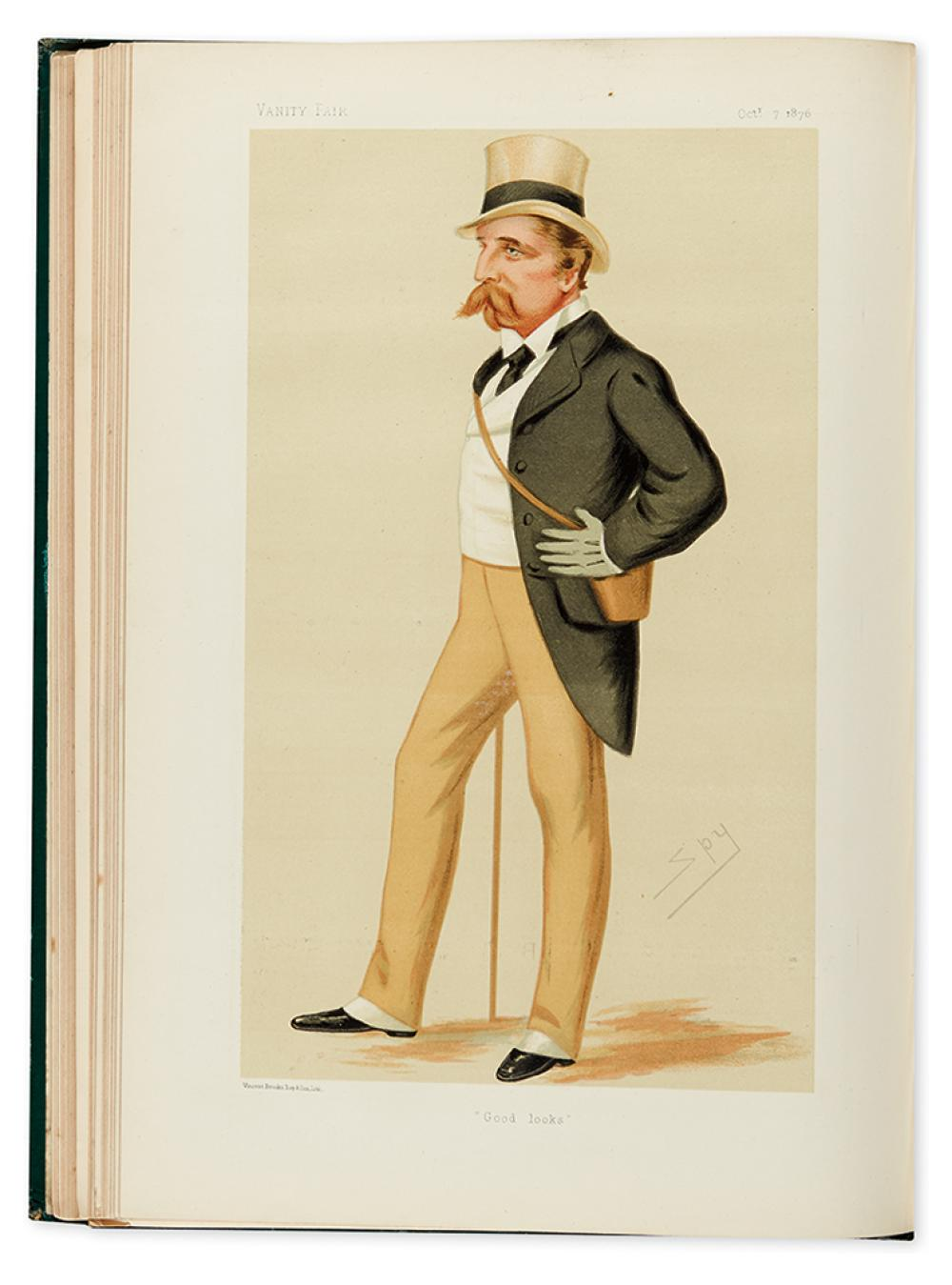 (CARICATURE). Vanity Fair: A Weekly Show of Political, Social & Literary Wares.