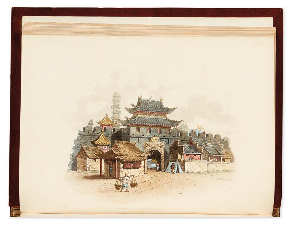 (CHINA.) ALEXANDER, WILLIAM; and MASON, GEORGE HENRY. The Costume of China