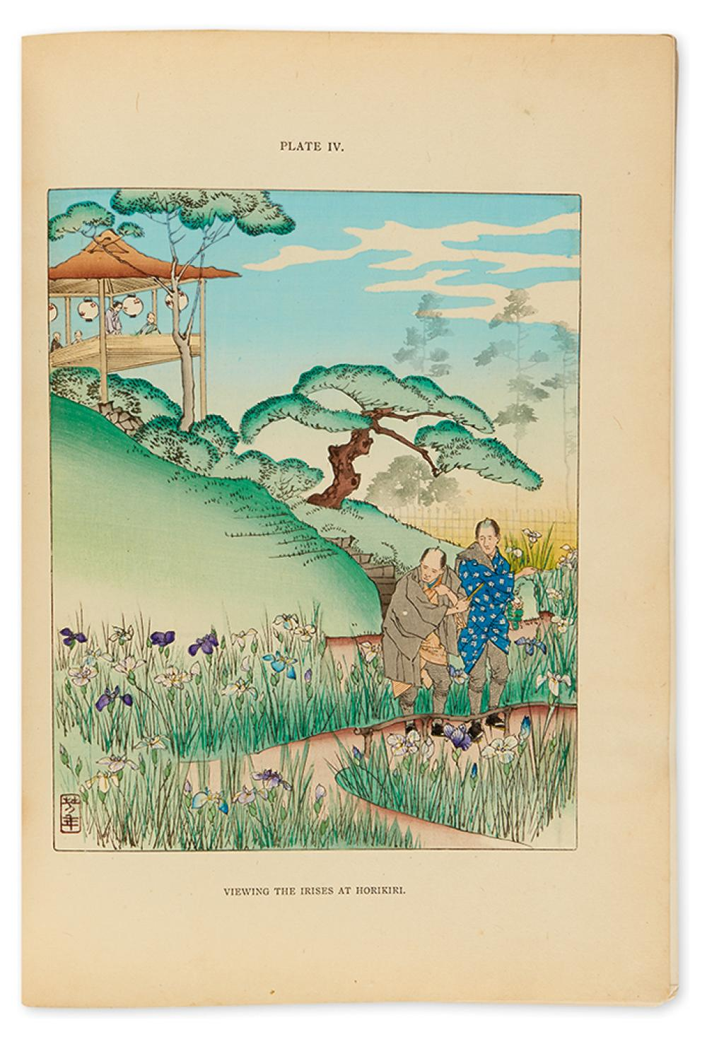 CONDER, JOSIAH. Flowers of Japan and the Art of Floral Arrangement, with Illustrations by Japanese Artists.